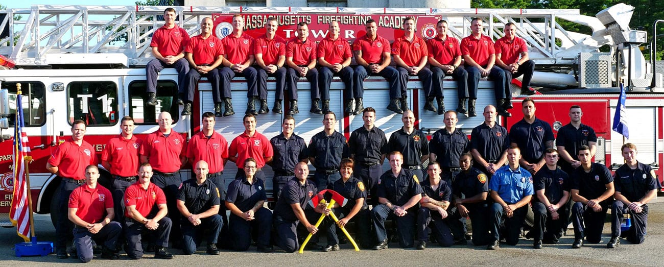 Graduation day for Saugus, Nahant, and Swampscott firefighters in