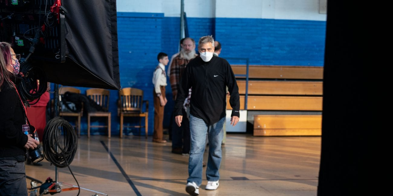 George Clooney spotted filming in Lynn, Massachussets 030821_JEH_georgeclooneyfilm_11-1300x650